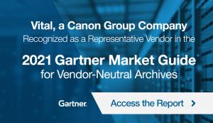 Vital Recognized In 2021 Gartner Market Guide
