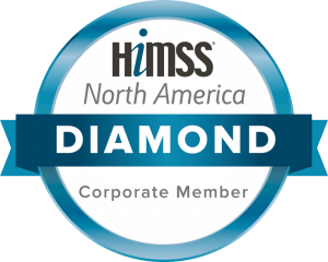 HIMSS North America Diamond seal.