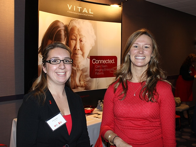 Get Red for Women community involvement event.