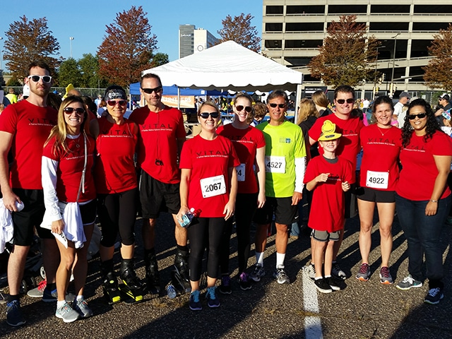 Get Your Rear in Gear community involvement event.