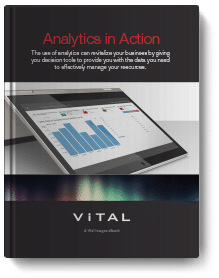 Analytics in Action book cover.