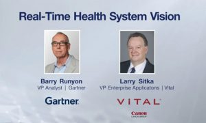Real-Time Health System Vision - with Gartner VP Analyst Barry Runyon