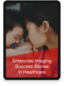 Enterprise Imaging Evergreen iPad image.