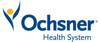 Ochsner Health System logo.